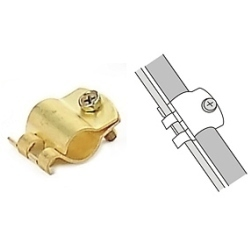 Copper Alloy Clamps - Brass Cable Clip