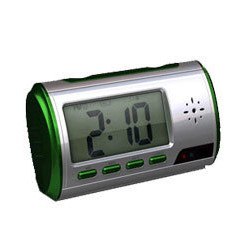 Digital Table Clock Camera
