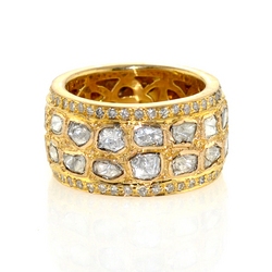 18k Yellow Gold Ring Jewelry