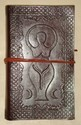 Goddess Leather Embossed Journal