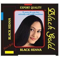 Black Gold Hair Dye