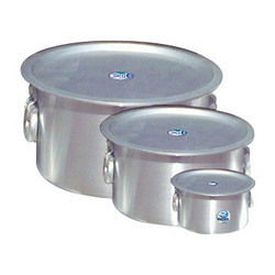 aluminium bhagona with lid