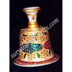 Marble Meena Painting Vases