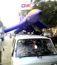 Advertising Road Show Inflatable