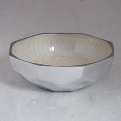 White Metal Bowls