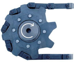 Drag Chain Sprockets