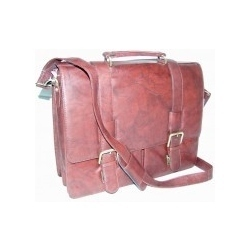 Leatherox Blood Briefcase