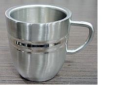 Stainless Steel DW Cappuchino Mugs