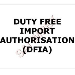 Duty Free Import Authorizations