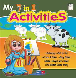 7  In 1 Activitic Book  Green