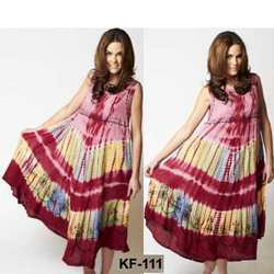 Long Rayon Dresses