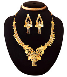 Artifical Gold Plated Necklace