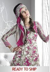 Unstitched Crepe Printed Suits