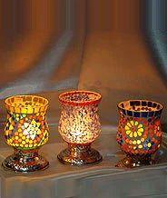 designer candle holder