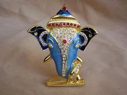 Diamond Vinayak Ganesh Statue