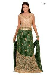 Cute Green Lehenga Choli