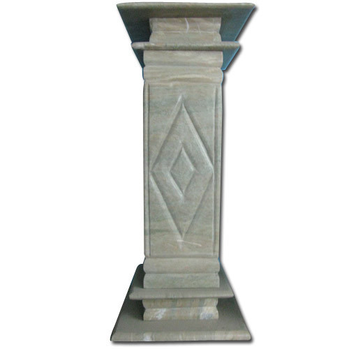 Marble Pillars Decorative Marble Pillar Exporter From