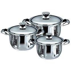 Stainless Steel Casseroles 1-25 ltrs