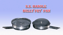 stainless steel belly fry pan