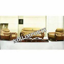Sydney Leather Type Sofa Set - Rexine