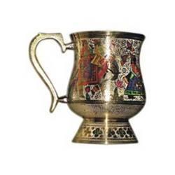 brass bear mug