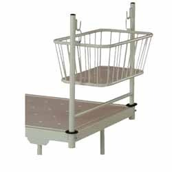 Crib with Bed Attachment