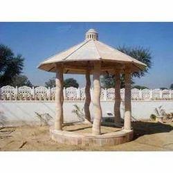 Garden Sandstone Gazebo