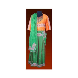 Hand Embroided Ghagra Choli