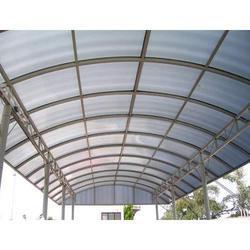 Polycarbonate Entrance Structures