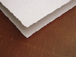 Deckle Edged Handmade Papers For Drawing, Art And Crafts