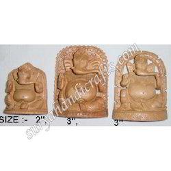 Wooden Ganesh Set