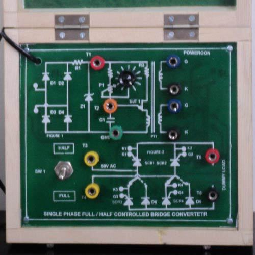 Training Kit For Scr Converters  Fully Controlled Converter