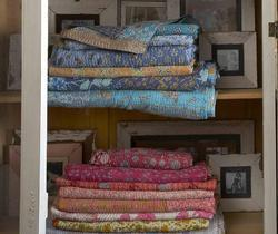 Antique Vintage Kantha Quilt