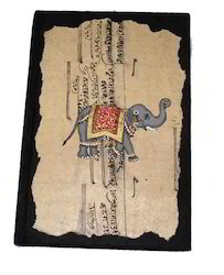 Old Indian Ethnic Design Printed Notebook