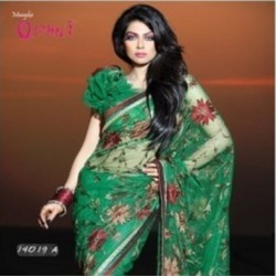 Vivacious Net Saree