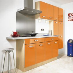 Moderna-Gloss Orange Kitchen