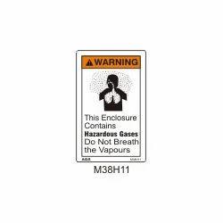 Inhale Hazard Sign