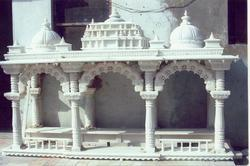 Marble Puja Mandir for Home