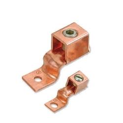Copper One Hole Offset Tongue Terminal Ends / Connectors