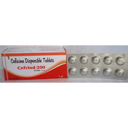 Cefixime Dispersible Tablet (Cefvind 200)