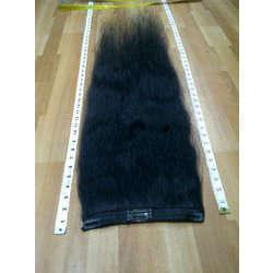 Clip On Hair Extension - Human Hair Attachment