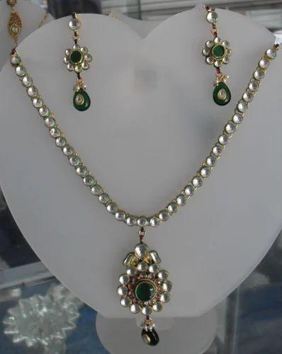 Imitation Jadau Necklace