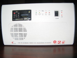 cfl inverter with fm radio usb memory card remote control