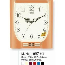 Plain Musical Clock-637-MF