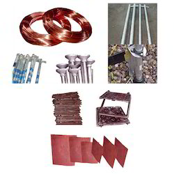 earthing materials
