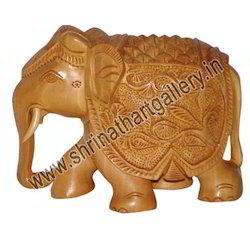 Indian Wooden Fine Elephant
