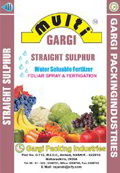 Straight Sulphur Fertilizers