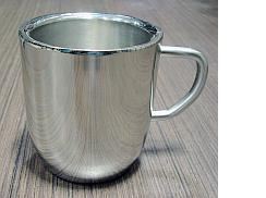 Stainless Steel DW Cappuccino Mugs