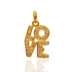 Gold Love Charms