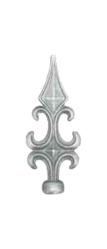 Wrought Iron - Spear Head